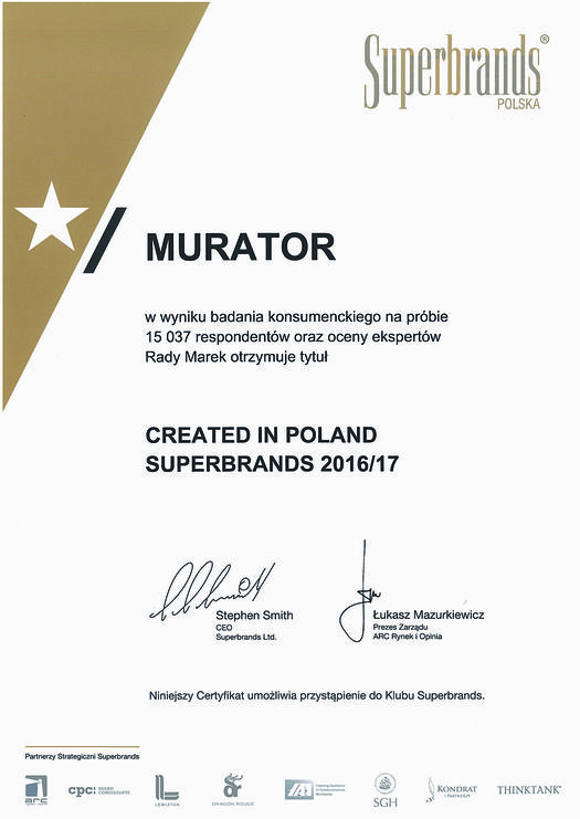 Created in Poland Superbrands