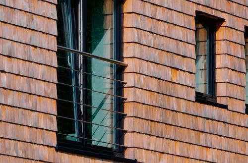 Okno-drzwi z balustradą
